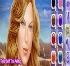 Taylor Swift verdadeira maquiagem