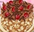 Torta de chocolate com recheio