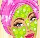 Tratamento facial na princesa