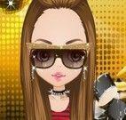 Vestir a cantora de rock