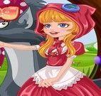 Vestir Chapeuzinho Vermelho