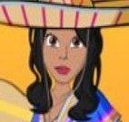 Vestir garota mexicana