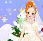 Vestir noiva para casar no natal