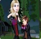 Vestir o casal de monstrinhos