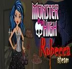 Vestir Robecca da turma Monster High